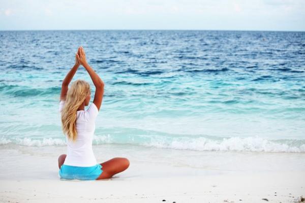 йога в отпуске
